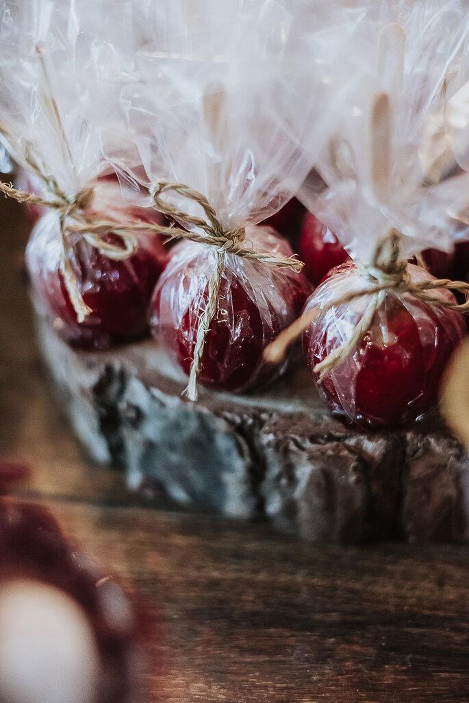 doce de maçã do amor