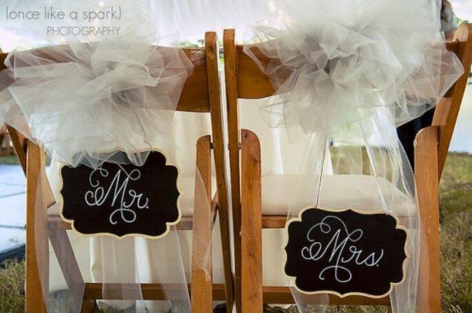 Déjeuner de mariage : une formule qui change ! - Photo : Once like a spark