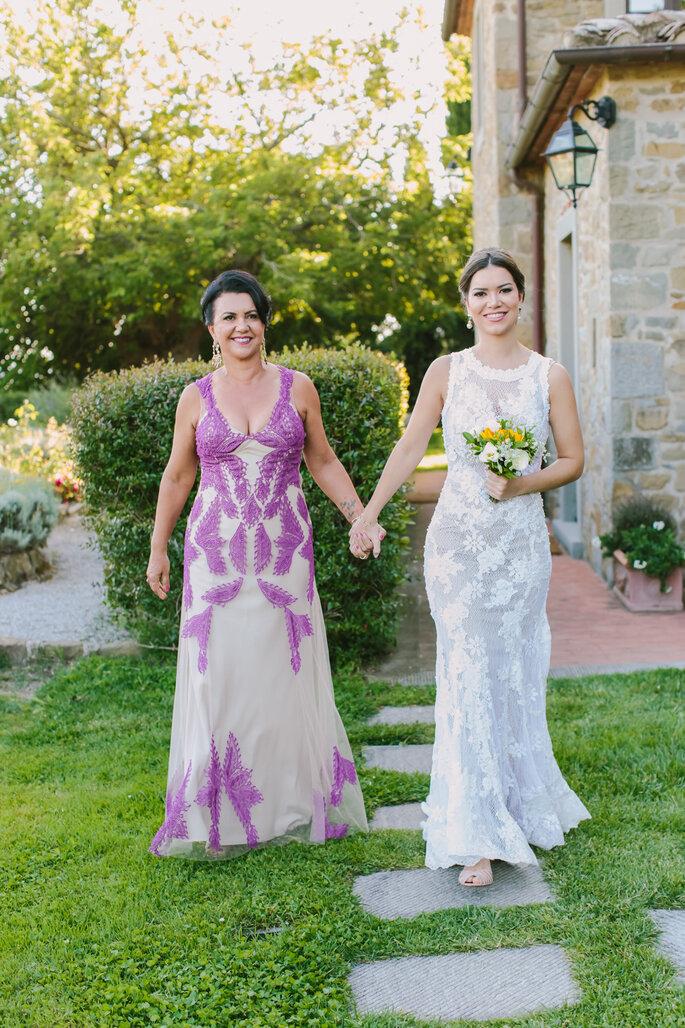 Noiva e mãe