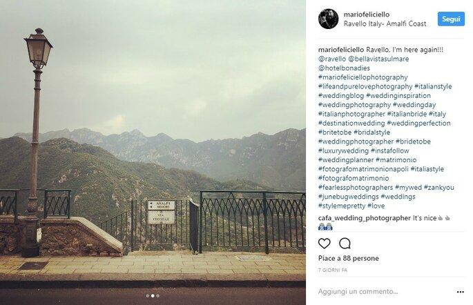 Foto via Instagram @mariofeliciello
