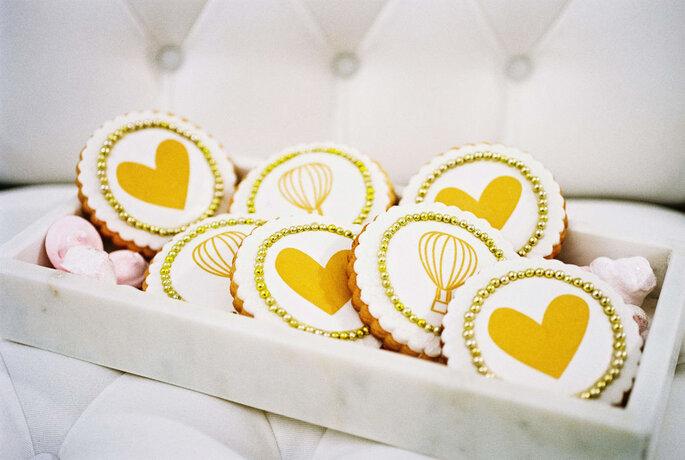 Cook & Cookies Hochzeitskekse mit Ballons und Herzen