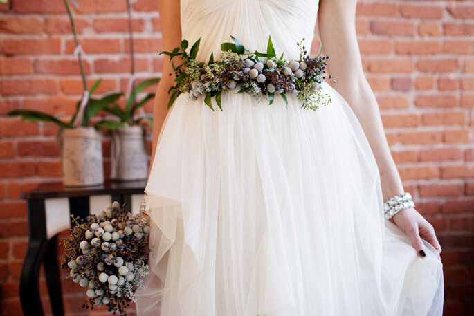 z corsage cinto wedding bee