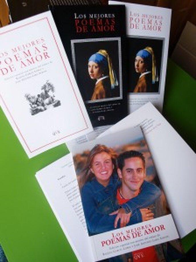 Regala un libro como recuerdo a los invitados de tu boda