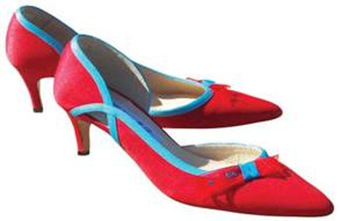Chaussures de mariée Mademoiselle Rose 2011