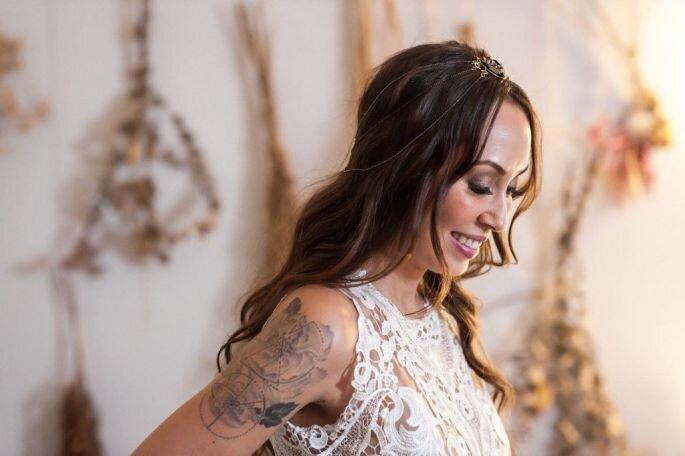 Vestido: Casamarela Noivas | Foto: Thiago Okimoto