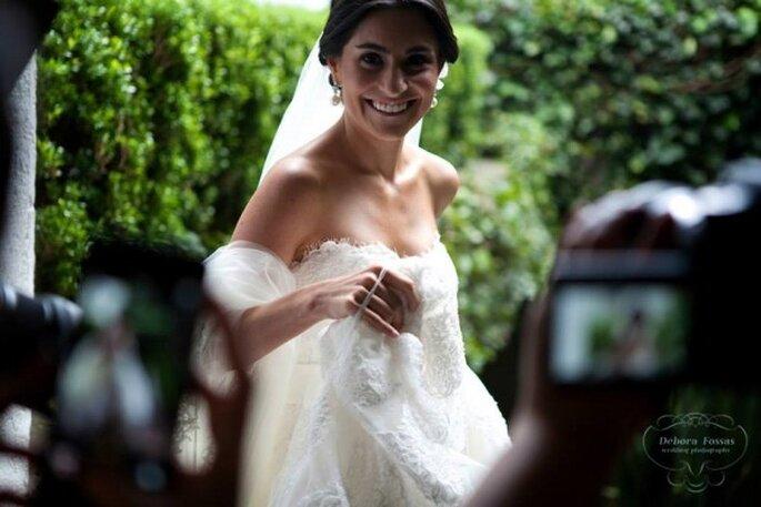 Mucho color y personalidad: La boda de Eugenia y Santiago - Debora Fossas