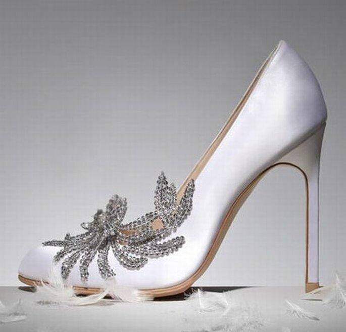 """Zapatos """"Swan"""" de Manolo Blahnik"""