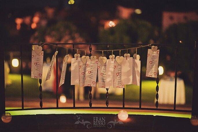 Decoración para boda en año nuevo.Foto de Fran Russo.