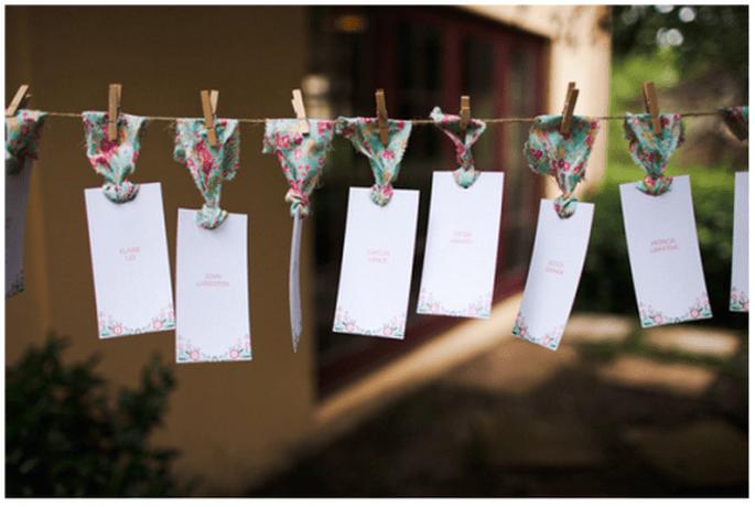 Idea una forma divertida para acomodar a tus invitados - Foto Jeremy Beasley