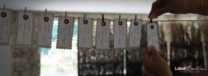 Tuto pour réaliser les Escorts Cards de ton mariage - Label' Emotion