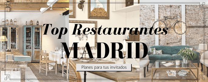 TOP RESTAURANTES MADRID