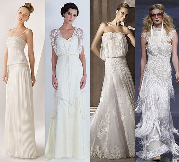 Inspiration années 20 pour sa robe de marié