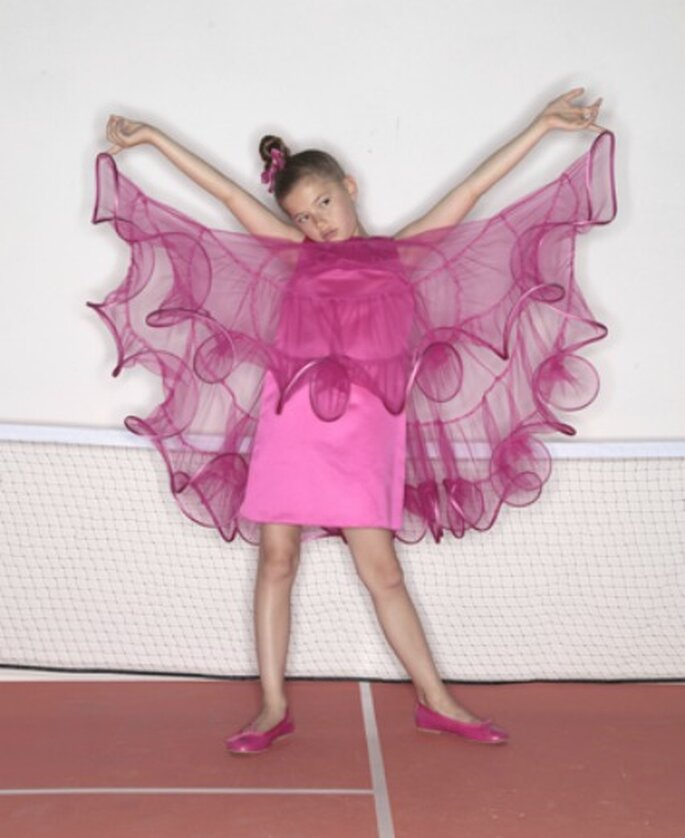 Collection Enfant Suzanne Ermann, modèle Rebeca - Photo : Suzanne Ermann