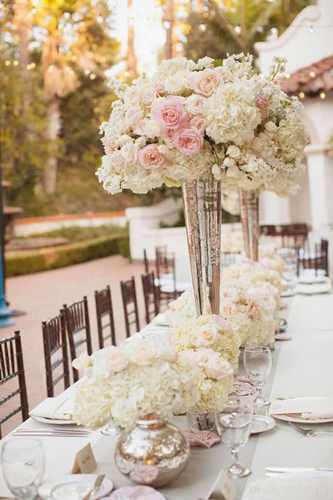 4 tendencias top para la decoraci n de las mesas de boda for Tendencias de decoracion 2016