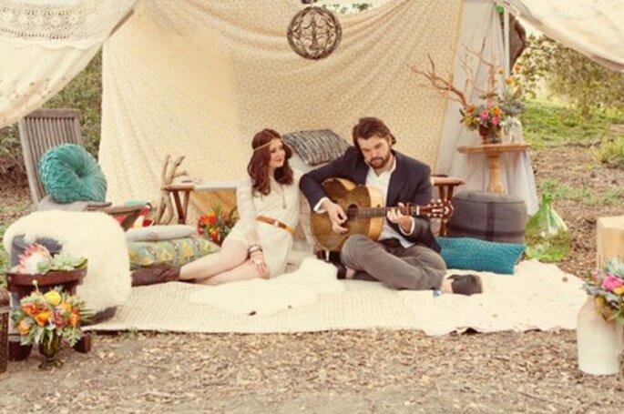 #MartesDeBodas: Todo sobre la tendencia bohemia en bodas 2013 - Foto Katelin Wallace Photography
