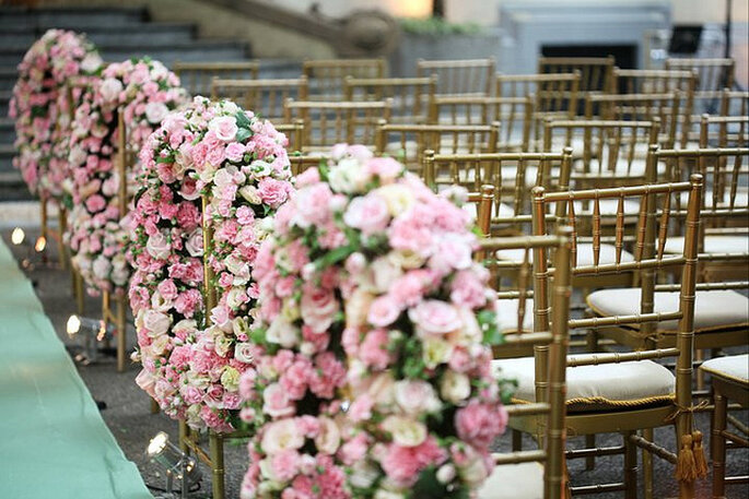 Decoración en rosado. Foto: Boutique de Tres Deco