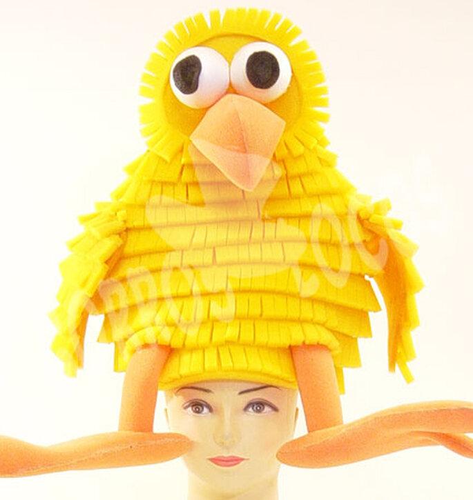 En Gorros Locos hay sombreros de distintos animales.