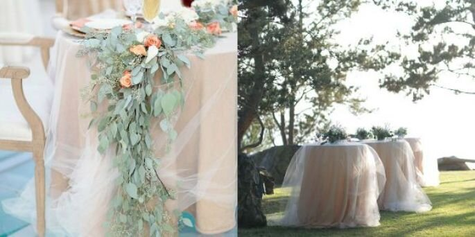 decoración con tul - Simply Bloom Photography, Bryce Covey Photography