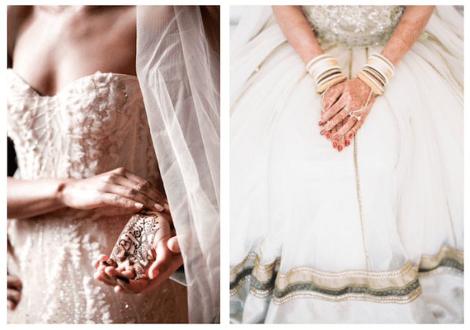 Tendencia Bollywood en bodas - Foto Picotte Weddings, KT Merry Photography