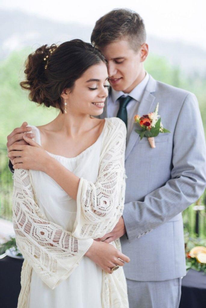 Образ невесты Вероника Тропина