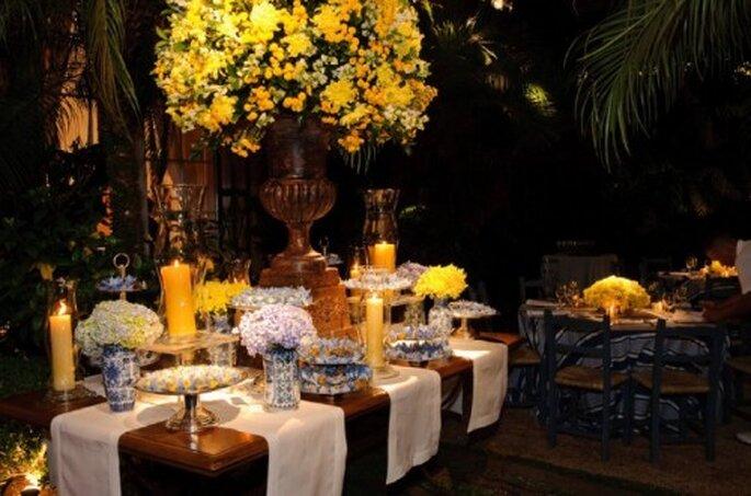 Le jaune : au top pour votre décoration de mariage. - Photo : Boutique 3