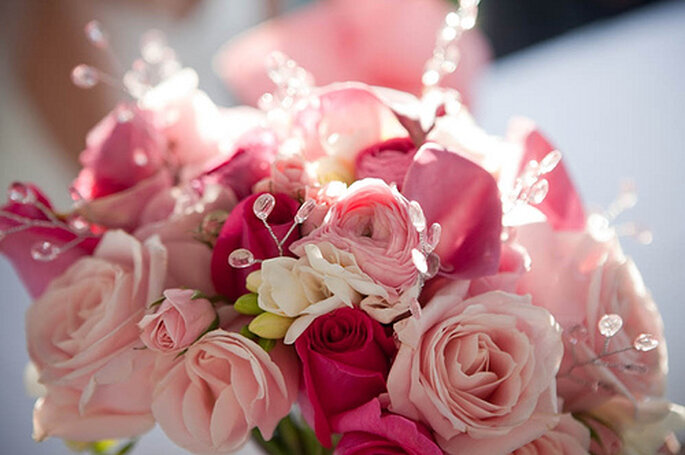 Bouquet da sposa rosa! - Foto: Princess Ashley