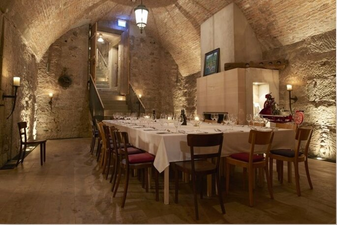 Vallocaia-Gewölbekeller im Ristorante Verdi