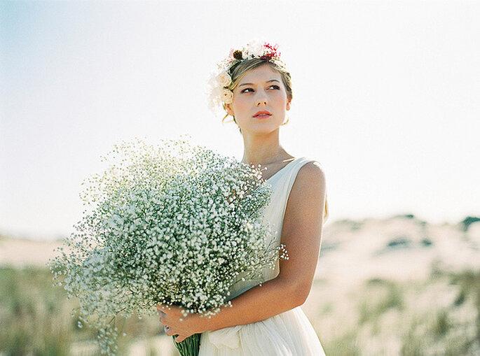 Siemprevivas, una de las flores favoritas de las novias. Foto: Joaquín Torconal