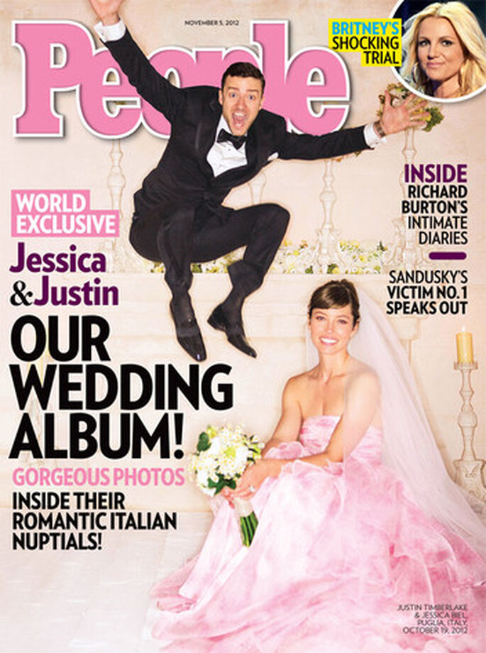 Sie sagten JA zu Rosa – Justin Timberlake und Jessica Alba – Foto: peoplemagazine cover