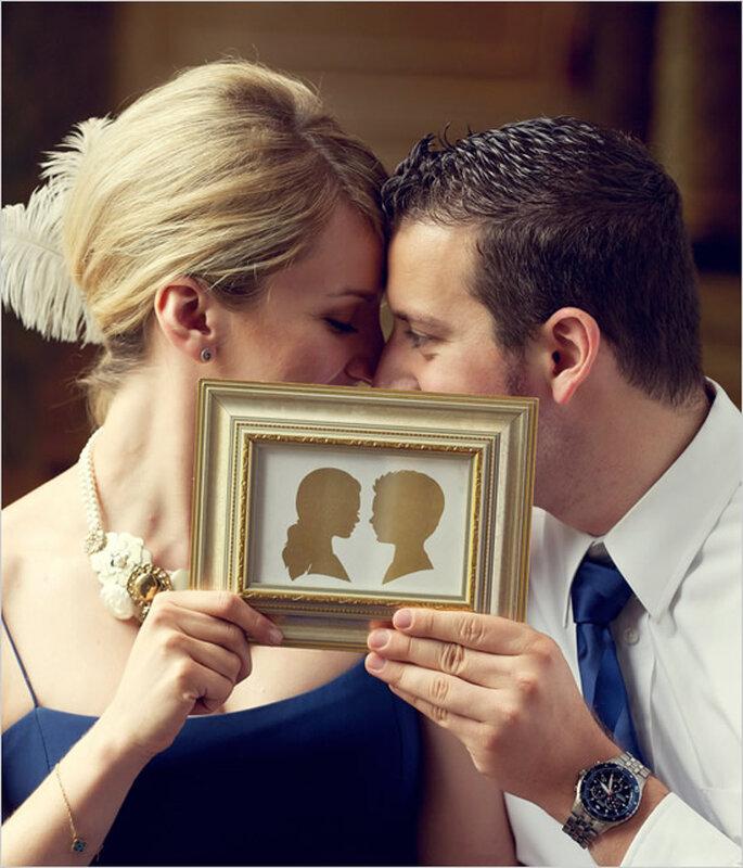 Siluetas para decorar tu boda - Avery House