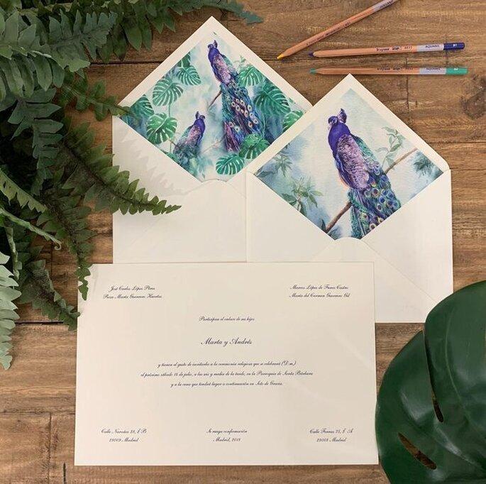 Invitaciones de boda originales diseños unicos