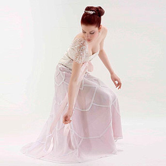 Diseños exclusivos de Virginia Cadena Romancero para novias colombianas
