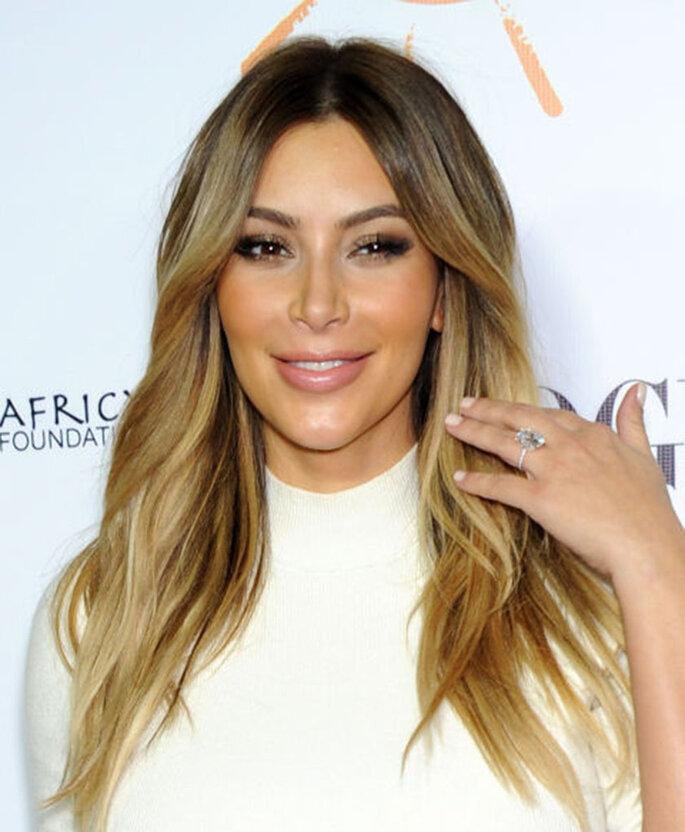 anel noivado kim kardashian