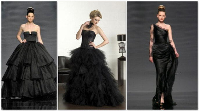 Vestidos de Noiva Preto