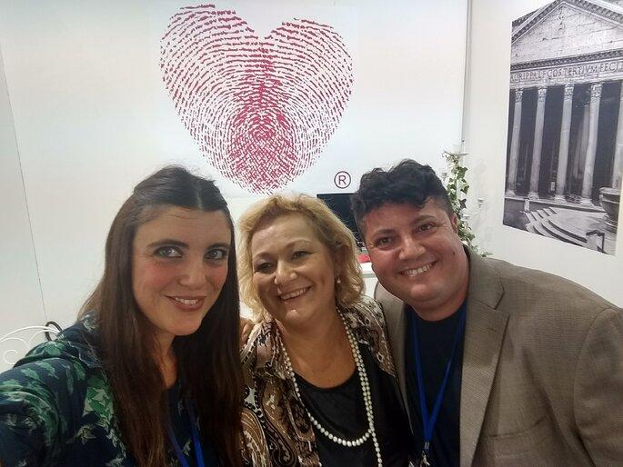 Con Bianca Trusiani e Armando de Nigris