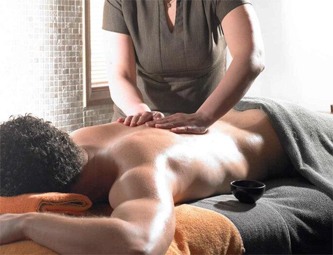 Masaje especial para hombres - Foto: Aqua Steam