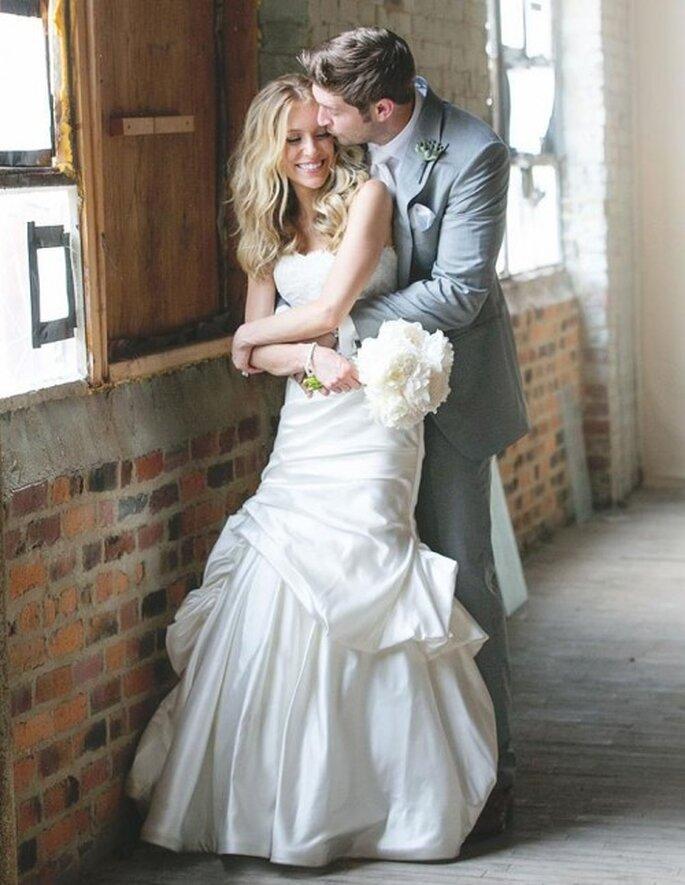 Detalles inéditos del look de novia de Kristin Cavallari - Foto Monique Lhuillier Facebook