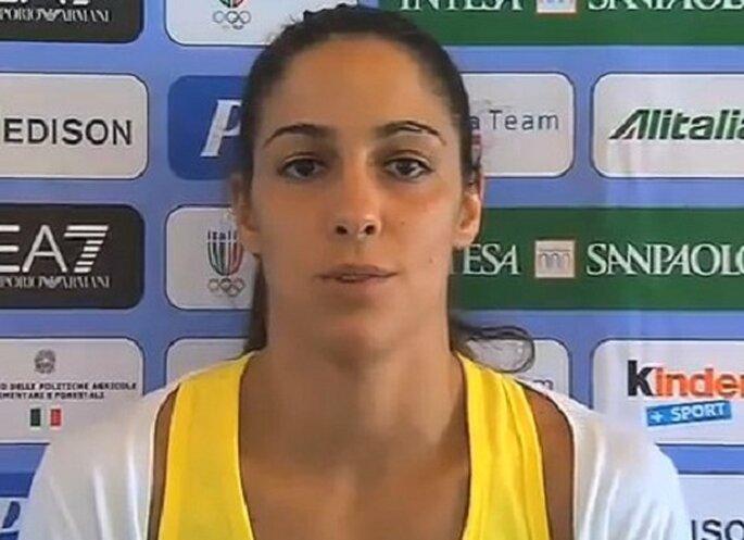 Giulia Quintavalle, judoka. Foto: youtube.com