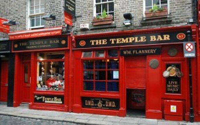 Típico pub irlandés