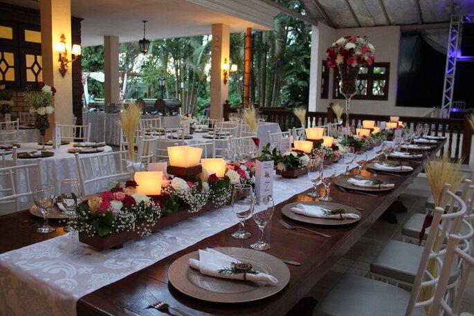 Salão do banquete do Requinte Campestre