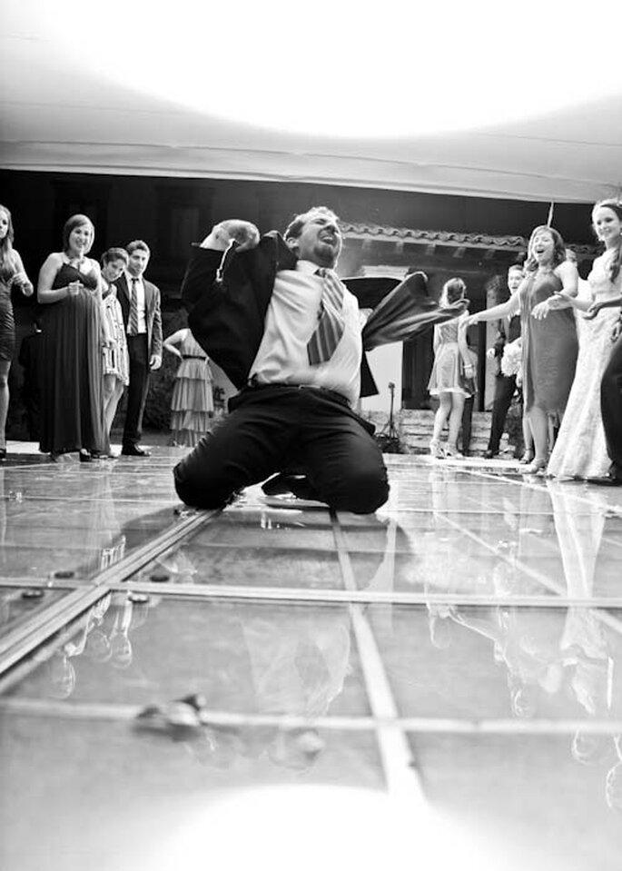Per far divertire gli invitati non c'è niente di meglio che una pista da ballo! - Foto Iram López