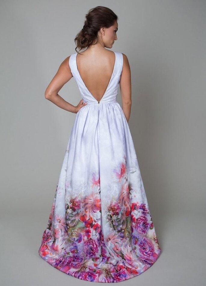 Vestidos de novia con estampados de flores - Foto Heidi Elnora