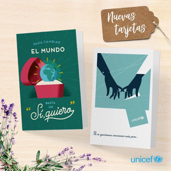 Unicef detalles solidarios bodas