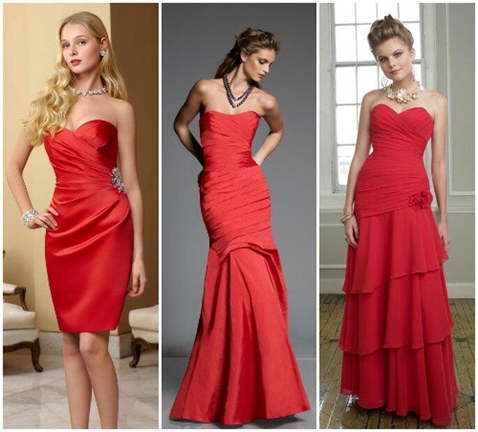 cheap for discount ff4e8 e0c89 Sposa a Natale? Per le tue damigelle sì ad un abito rosso di ...