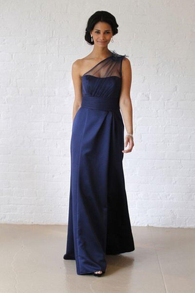 Elegantes Standesamtkleid David Bridal
