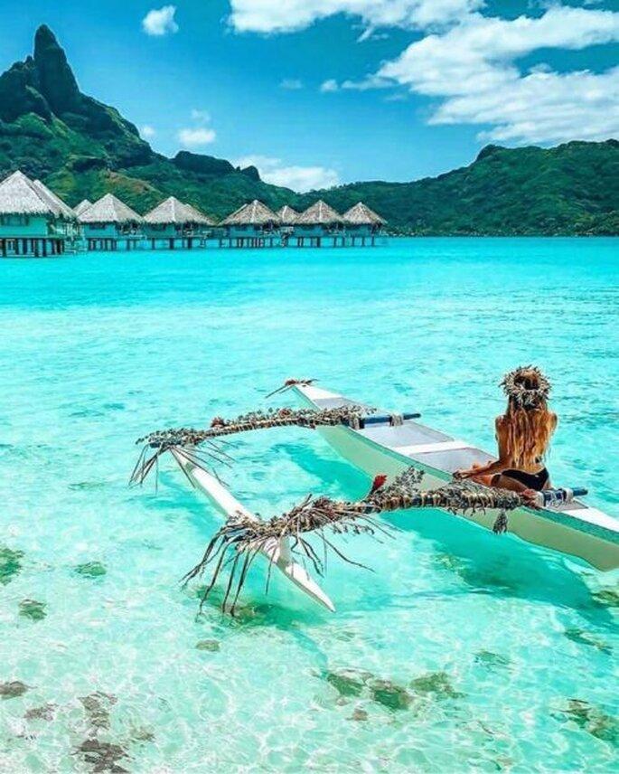 Bora Bora voyage de noces