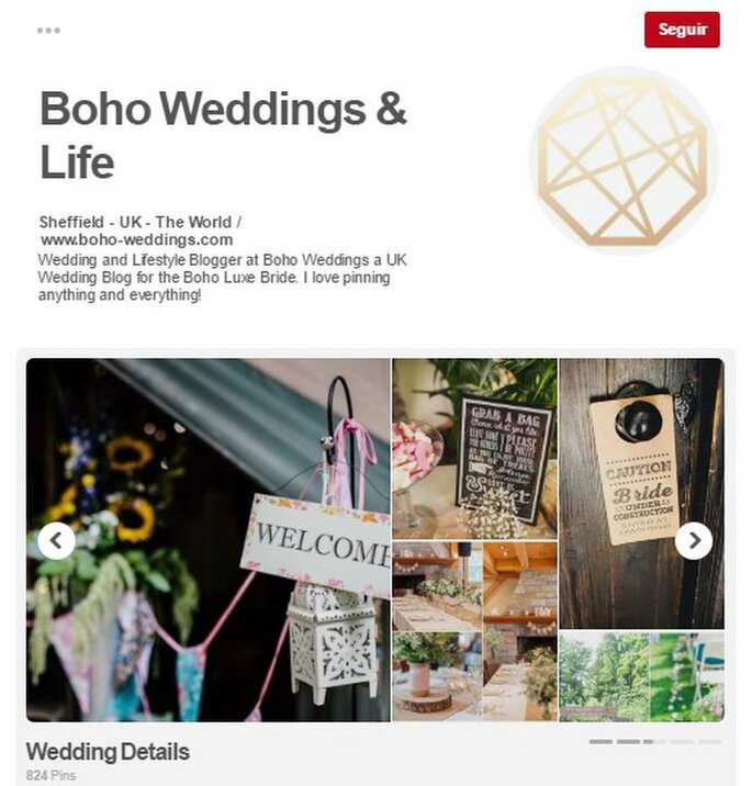 Boho Weddings & Life. Foto: Pinterest