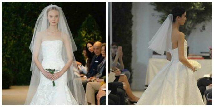 Voile de mariée Carolina Herrera 2014