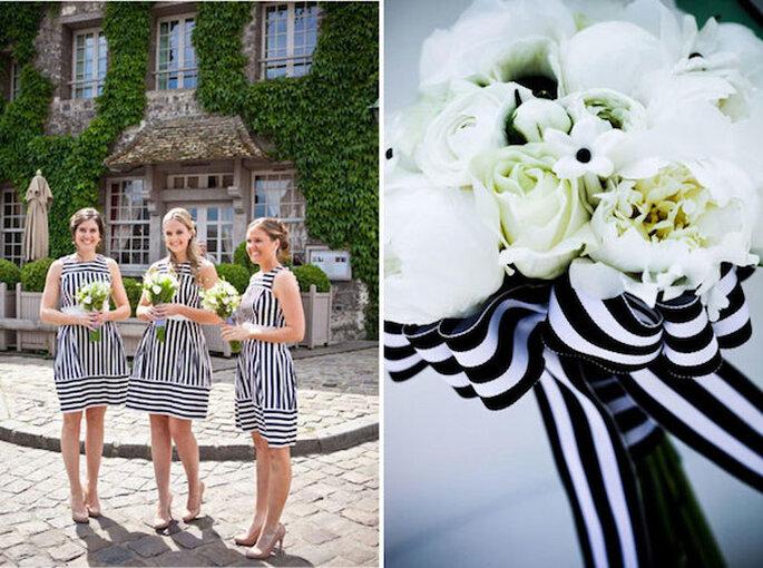 Las damas lucirán geniales con rayas - Fotos Swoon y JMM Photography