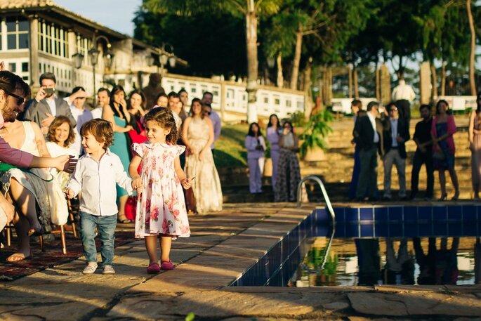 pajens cerimônia casamento